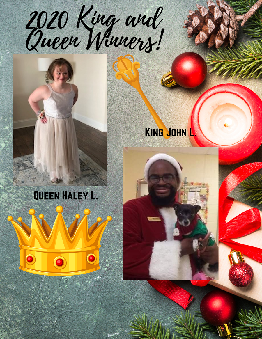 2020 Covenant Christmas King and Queen Contest Winners